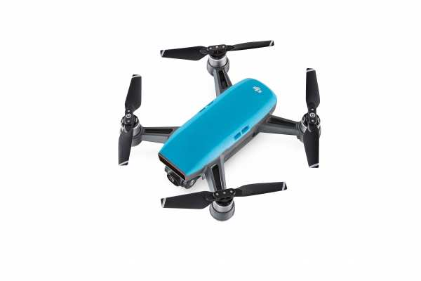 DJI Spark Fly More Combo blau