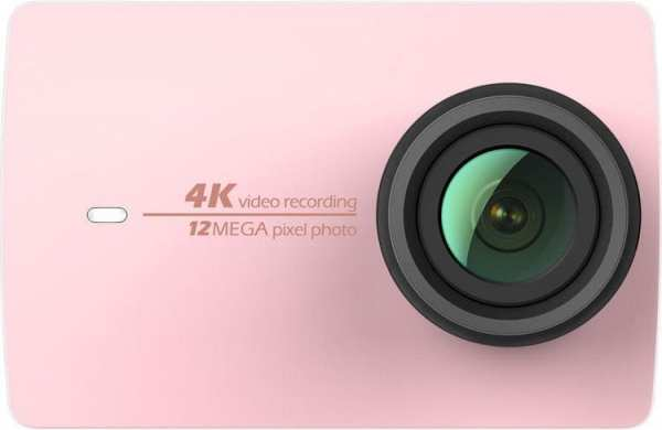 YI 4K Action Camera Pink Gold