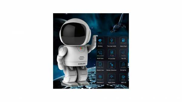 Baby Monitor Astronaut WIFI / HD mit App