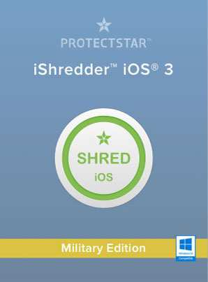 iShredder - iOS 3 - Military Edition